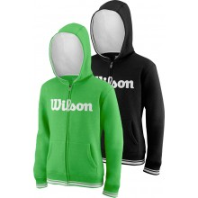 WILSON JUNIOR TEAM SCRIPT SWEATER MET CAPUCHON
