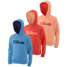 WILSON JUNIOR SCRIPT COTTON HOODIE
