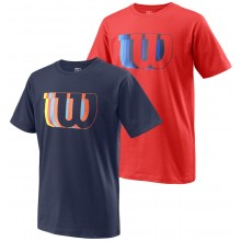WILSON JUNIOR BLUR TECH T-SHIRT
