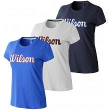 WILSON SCRIPT COTON T-SHIRT DAMES
