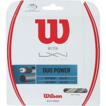 WILSON DUO POWER TENNISSNAAR: LUXILON ALU POWER & WILSON NXT POWER 1.25 (12.20 METER))