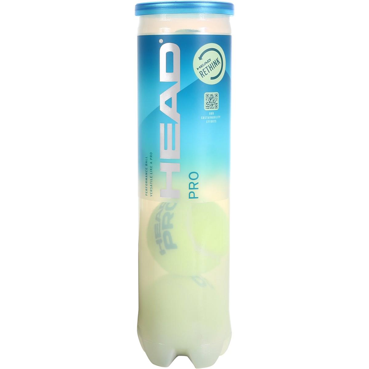 HEAD PRO BLUE TENNISBAL (TUBE 4 BALLEN)