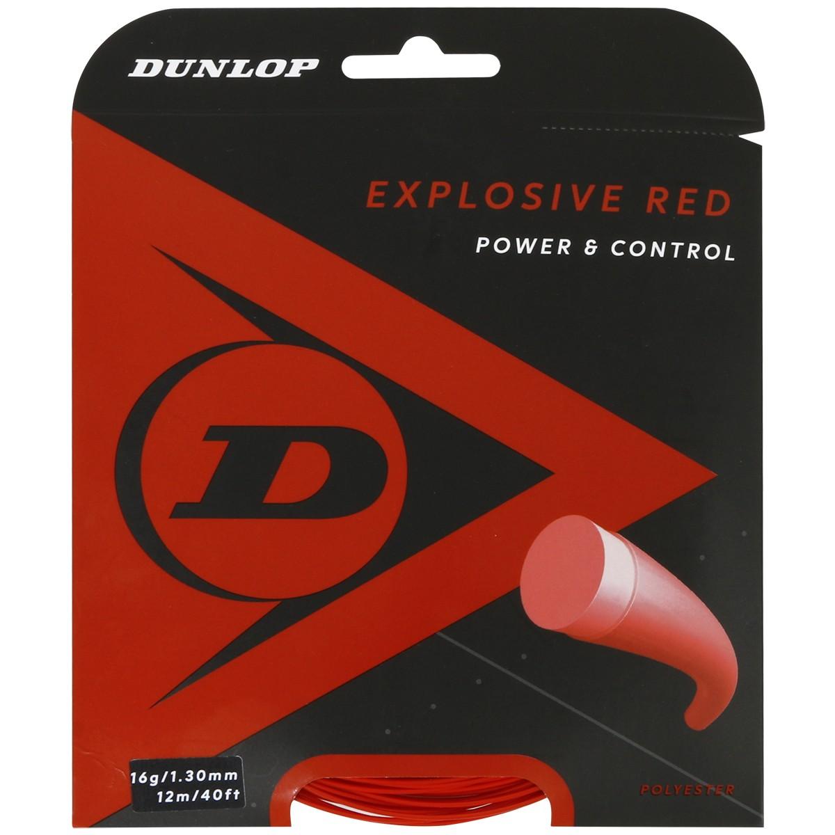 DUNLOP EXPLOSIVE RED TENNISSNAAR (12 METER)