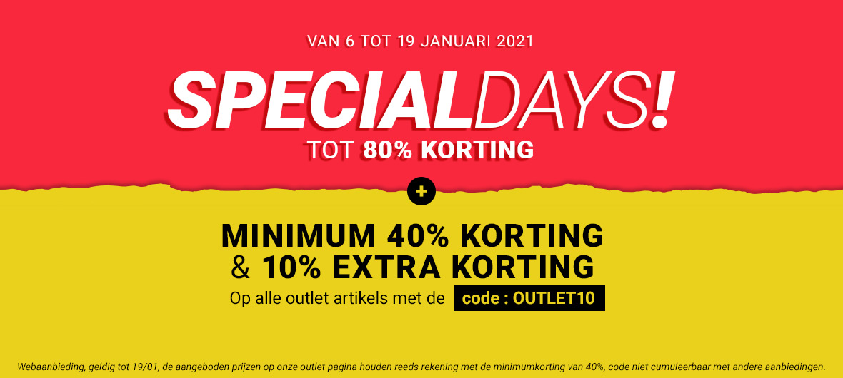 Special days + outlet