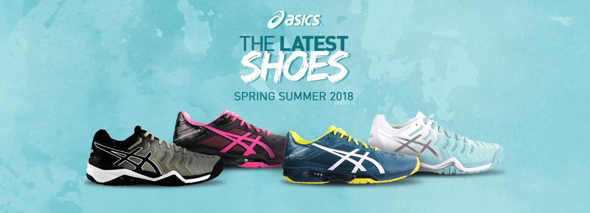 Nouvelles chaussures Asics 2018