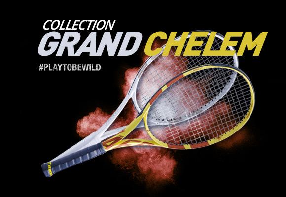 Raquettes Roland Garros et Wimbledon